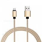SZKINSTON USB3.0 Type-C Male to USB3.0 Male High Speed Cable - Golden