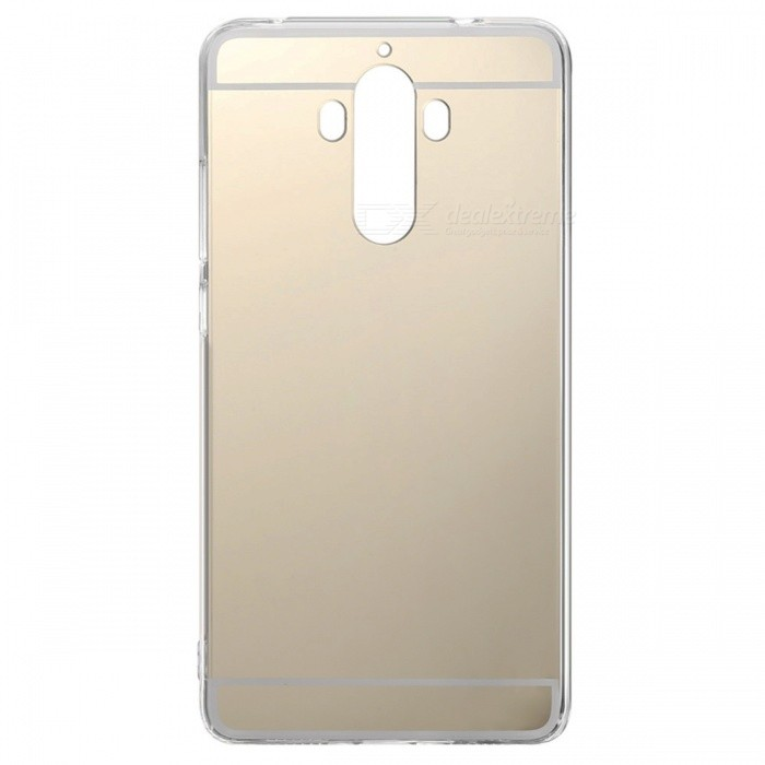 SZKINSTON Mirror Surface TPU Case for HUAEWEI Mate 9 - Golden