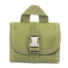 Outdoor multifunctional tactical 14 rifle bullet bag - army green