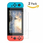 Miimall 2 PCS Tempered Glass Screen Protector for Nintendo Switch 2017