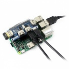 Waveshare USB HUB HAT for Raspberry Pi Zero/Zero W/3B/2B