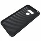 Protective PC Back Case w/ Card Slots for LG G6 - Black