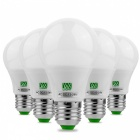5Pcs YWXLight E27 10-LED 5W 2800 ~ 3500K warme weiße LED-Birnen