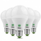 YWXLight E27 5730SMD 7W 2800-3500K Warmes weißes LED-Birne (5 PCS)