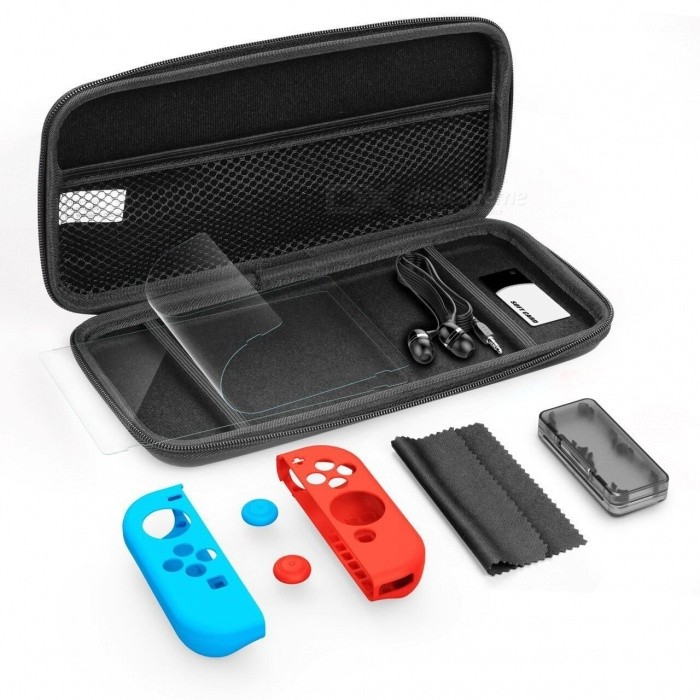 GameWill Starter Kit pour Nintendo Switch - Noir