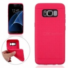 Protective TPU Back Case for Samsung Galaxy S8 - Deep Pink