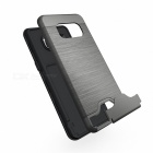 Protective PC + TPU Back Case w/ Card Slots for Samsung Galaxy S8