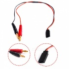 30cm FUTABA RECEIVER Battery Charger Charging Leads