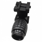 ACCU Aluminium alliage 70mm 4X Magnifier Scope Mount Set for 20mm Rail