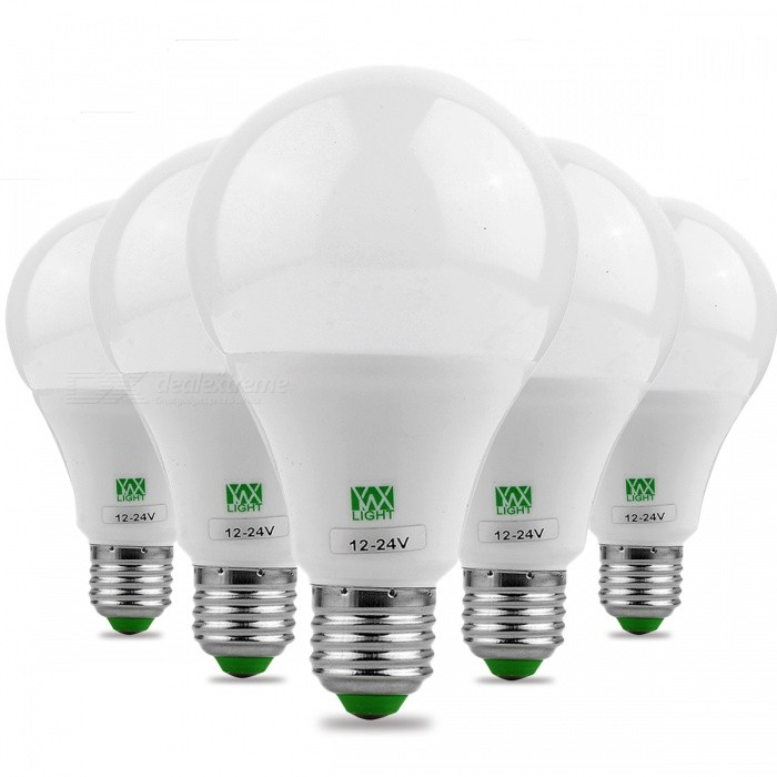 YWXLight E27 9W 18LED 6000 ~ 6500K Ampoules LED Super Haute Luminosité, 5Pcs