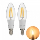 YouOKLight E14 4W 4-COB Edison Candle Bulbs LED Filament Lights (2PCS)