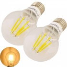 YouOKLight E27 6W 6-COB Edison Light Bulbs LED Filament Lights (2PCS)