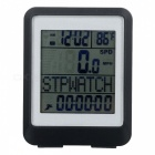 12/24 Format Clock, Stop Watch, Auto On/Off, AVG Speed / Max Speed (1 x CR2032 Battery Included)