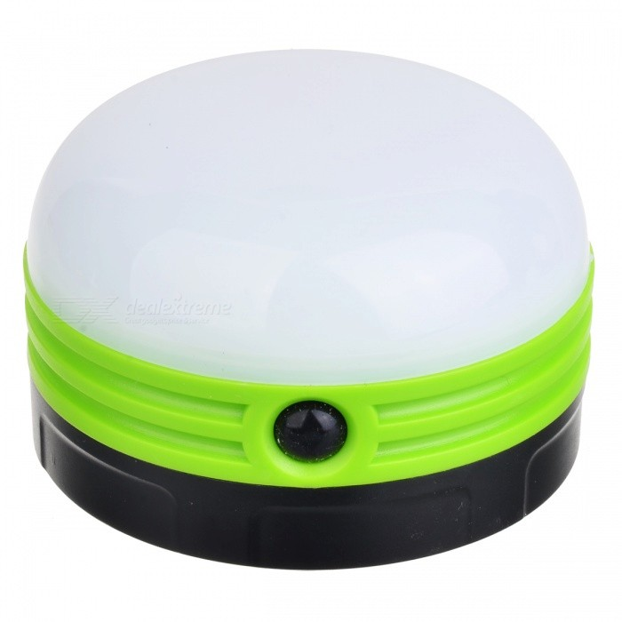 Outdoor Fishing Camping LED Lamp Night Light - Green (3 x AA)