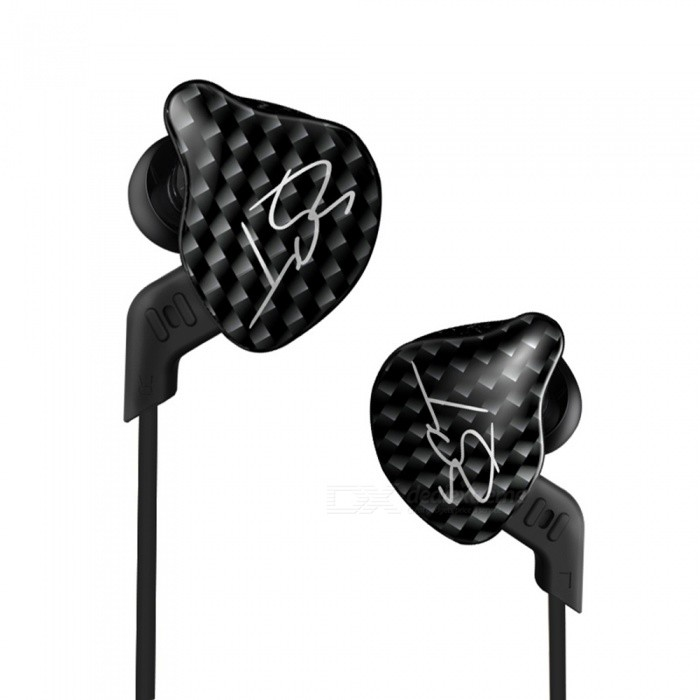 KZ ZST Hi-Fi Stereo In-Ear Wired Hybrid Earphone - Black (Without Mic)Headphones<br>Form  ColorBlack (Without Mic)BrandKZModelZSTMaterialMetal + TPEQuantity1 DX.PCM.Model.AttributeModel.UnitConnection3.5mm WiredBluetooth VersionNoCable Length120 DX.PCM.Model.AttributeModel.UnitHeadphone StyleBilateral,In-EarWaterproof LevelOthers,N/AApplicable ProductsUniversalHeadphone FeaturesHiFiSupport Memory CardNoSupport Apt-XNoSensitivity120dBTHD1%Frequency Response20~20000HzImpedance18 DX.PCM.Model.AttributeModel.UnitDriver Unit8 mmPacking List2 x Earbuds1 x Cable2 x Pair of Ear Plugs<br>