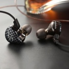 KZ ZST HiFi Stereo In-Ear Wired Hybrid Earphone - Black (With Mic)