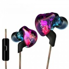 KZ ZST Hi-Fi Stereo In-Ear Wired Hybrid Earphone - Colorful (With Mic)