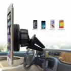 ZIQIAO Universal Magnetic Support Cell Phone Car Holder - Black
