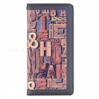 Fashion Letter Drawings Pattern 5 Protective Case for IPHONE 7 PLUS