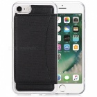 Multifunctional Protective Back Case Cover for IPHONE 7 - Black