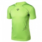 LUCKY SAILING LS04 Quick Dry Men's Short Sleeve T-shirt - Green (XL)
