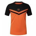 LUCKY SAILING LS08 Quick Dry Men's Short Sleeve T-shirt - Orange (XL)