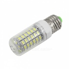 E27 12W 1800lm 69-SMD 5730 Cold Vita LED Corn Lampor (220 ~ 240V / 10PCS)