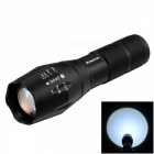 E-SMARTER Zooming Cree XML-T6 900lm 5-Mode White Tactical Flashlights