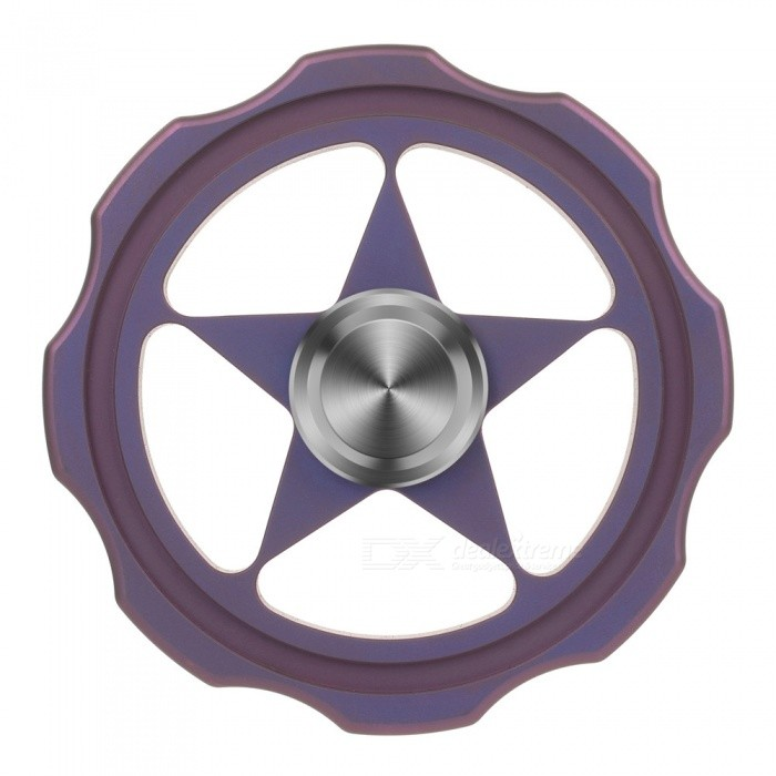 FURA TC4 Titanium Alloy Hand Spinner Toy - PurpleFinger Toys<br>Form  ColorPurpleMaterialTC4 Titanium Alloy(Body) + Tungsten Steel(Beads)Quantity1 DX.PCM.Model.AttributeModel.UnitPacking List1 x Hand Spinner<br>