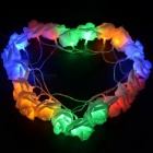 Rose Flower Fairy String Light Lamp for Wedding Decoration - Colourful