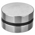 JEDX 40 x 10mm Strong Round NdFeB Magnets - Silver (2 PCS)