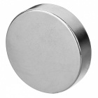 JEDX 40*10mm Strong Round NdFeB Magnet - Silver (1 PC)