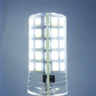 YWXLight E12 5W 80LED Cold White Dimmable LED Silica Gel Corn Lamp