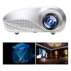 1080P 480 x 320 Portable Multimedia Projector w/ Remote Control- White
