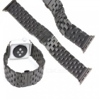 KELIMA Metal rostfritt stål Strap Chain för Smart Watch - Black