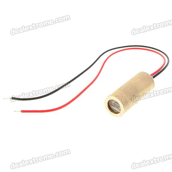 2~5mW 650nm Line Laser Module (3V) tripod laser head w 650nm 5mw focusing launch tube for freescale smart car golden 2pcs