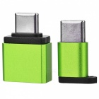 BSTUO USB to Type-C Adapter + Micro USB to Type-C Adapter - Green