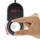 Bluetooth Wireless FM Transmitter In-Car Radio Adapter USB Car Charger