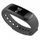 SX102 Waterproof Blood Pressure Heart Rate Monitor Smart Band - Gray