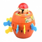 Large Adventure Pirate Bucket Toy - Red + Brown + Multicolor