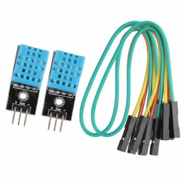 Hengjiaan DHT11 Digital Temperature Humidity Sensor Modules (2 PCS)