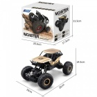 JJRC Monster Q50 1/18 2.4G 4WD Rock Crawler RC Climbing Car - Golden