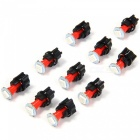 QooK 0.2W T5 LED 5050SMD Instrument Panel Dash Light Bulbs (10 Sets)