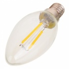 MLSLED E14 2W 2 COB 200lm Warm White Edison Vintage LED Bulbs