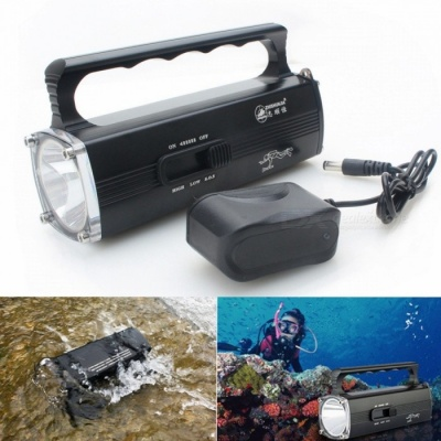 3-Mode XM-L2 White Light Diving Flashlight / IPX8 100m Diving Depth