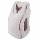 Portable Travel Nap Pillow Inflatable Travel Pillow - Grey