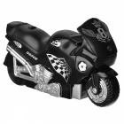Latest Creative Motorcycle Windproof Lighter w/ Light- Dark Green