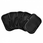 JEDX Car Dashboard Anti-Slip Sticky Mats for Mobile (5Pcs) - Black