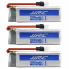 H37-07 3.7V 500mAh Batteries for JJRC H37 RC Quadcopter (3 PCS)
