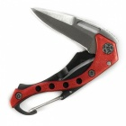 CTSmart Creative Keychain Climbing Small Knife - Red